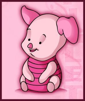 Disney - How to Draw Baby Piglet