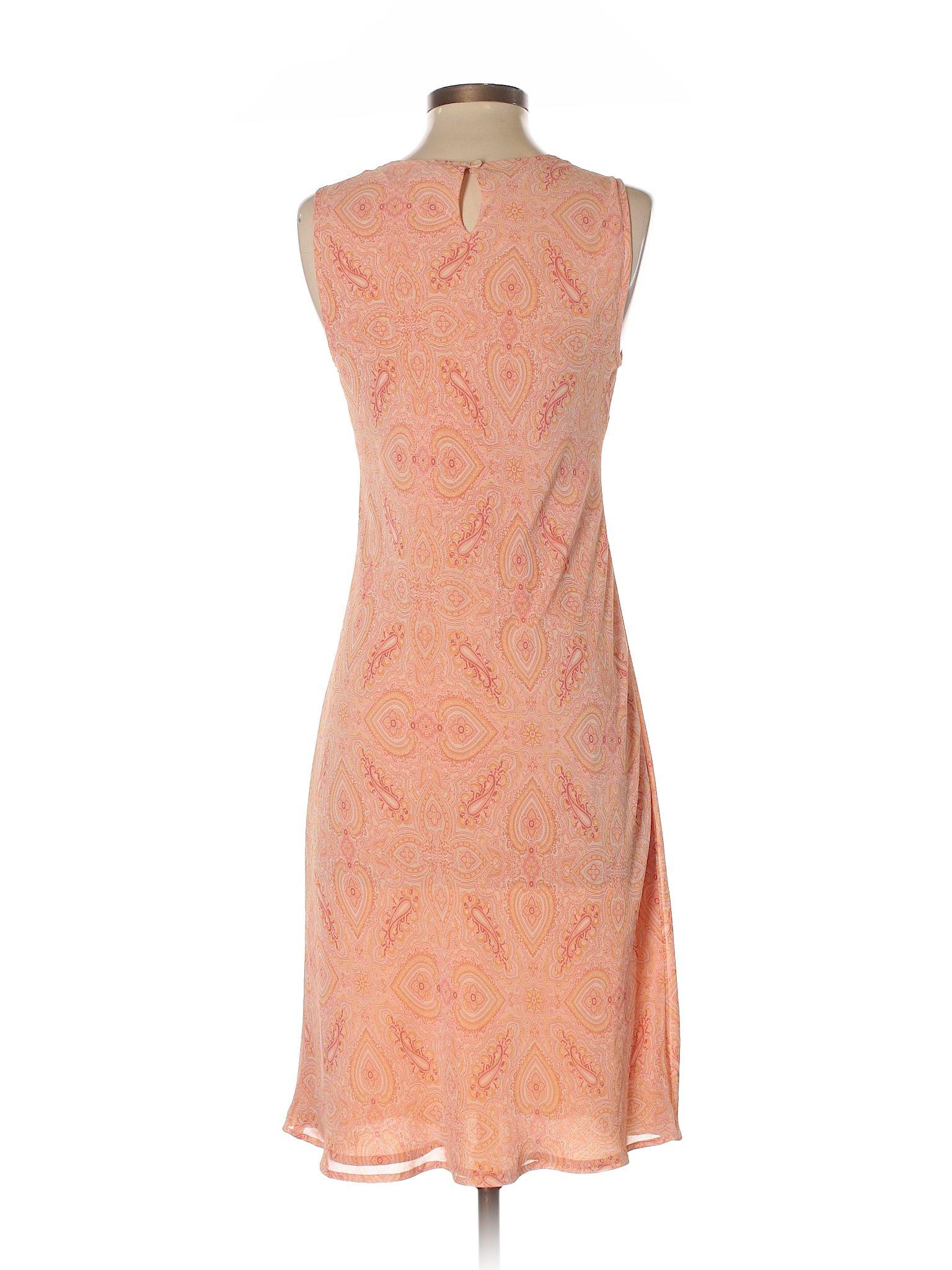 Orange dress casual  Ann Taylor LOFT Casual Dress Orange Womenus Dresses