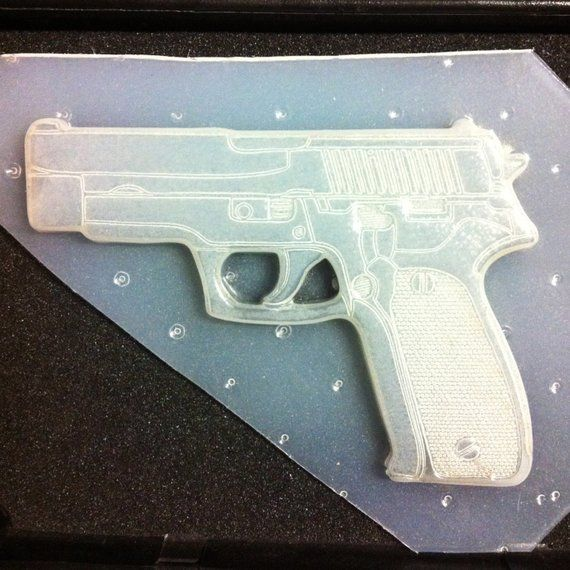 Flexible Resin Large Pistol Gun Plastic Mold | Products
