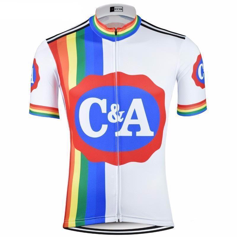44414ddc0 C A Eddy Merckx Retro Cycling Jersey