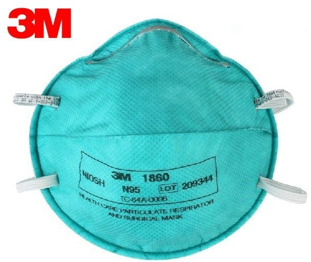 3m 1860s particulate respirator and surgical mask