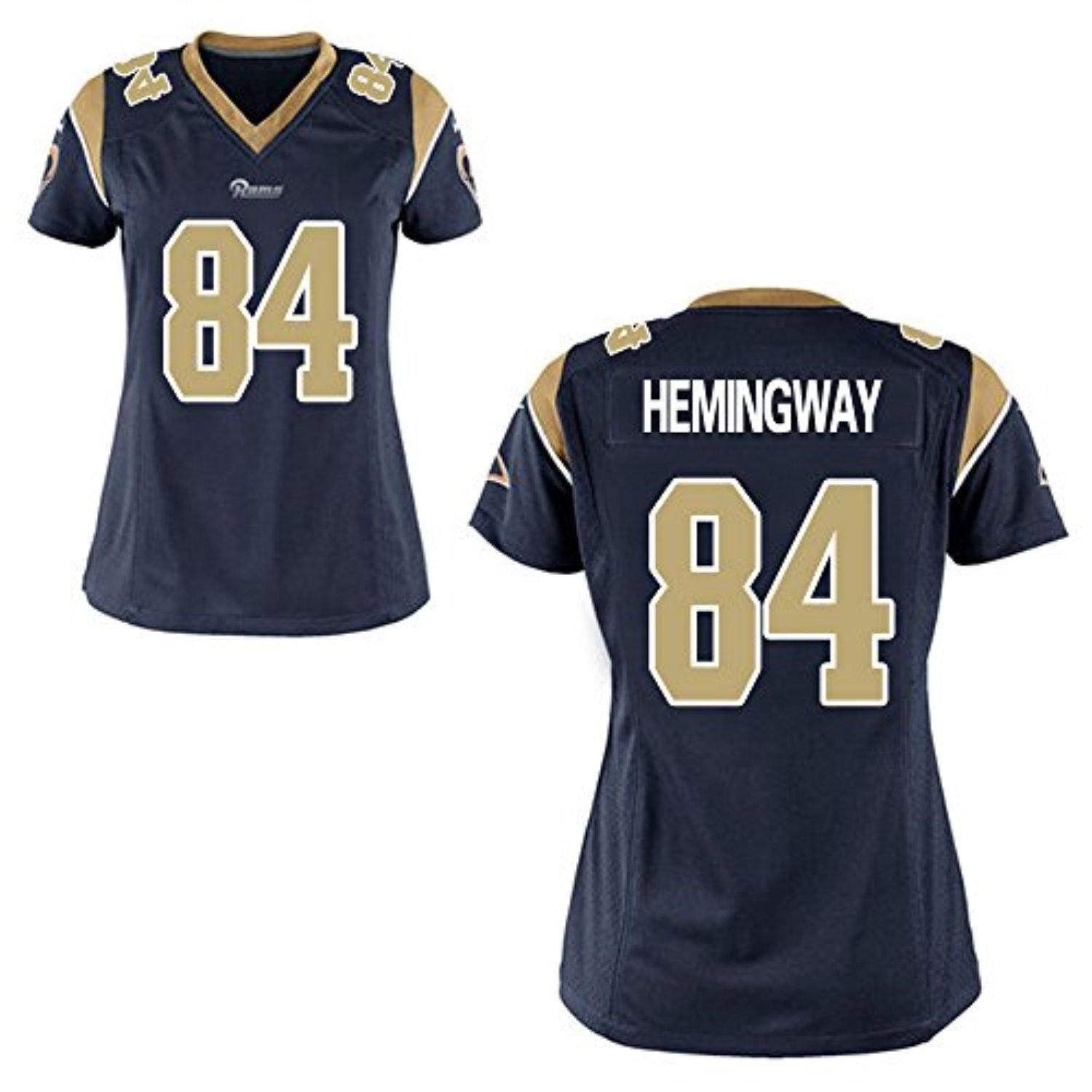 nfl jersey for dogs Women s Los Angeles Rams Nike Navy Blue Custom Game  Jersey a484423f4e