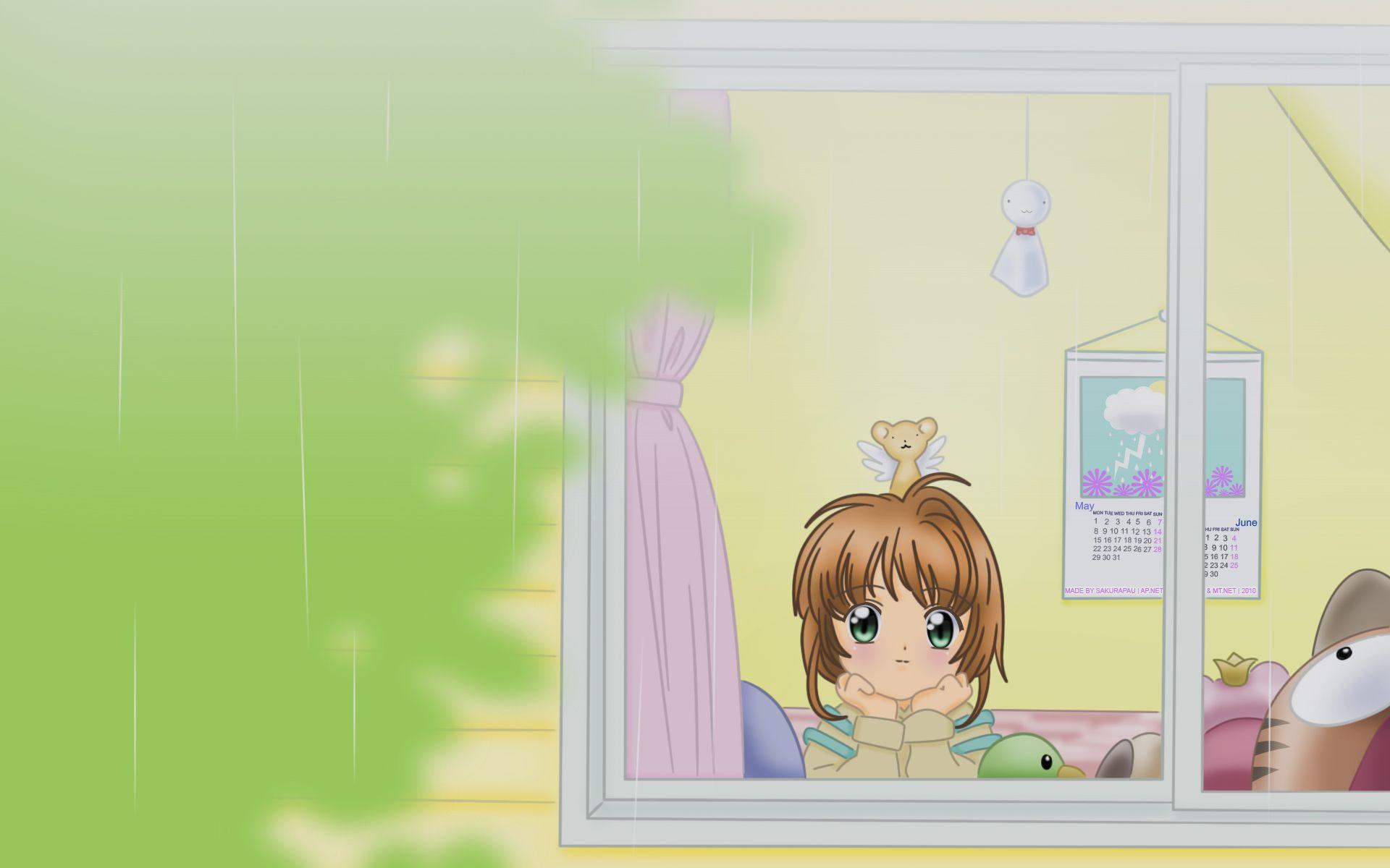 Cardcaptor Sakura Computer Wallpapers Desktop Backgrounds 1920x1200 Id 110796 Cardcaptor Sakura Anime Wallpaper Sakura Card