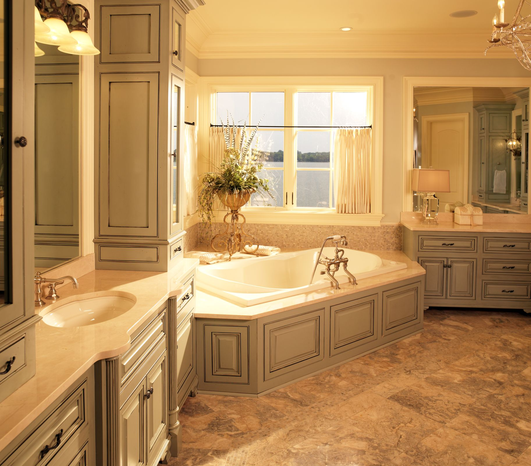Big master bathroom - Master Bathroom Designs Big Part Of The Master Bedroom Suite Is The Master Bath