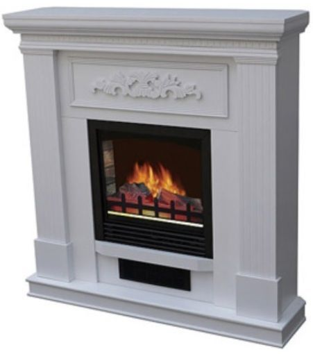 Details About Oak Electric Corner Or Flat Fireplace Mantle