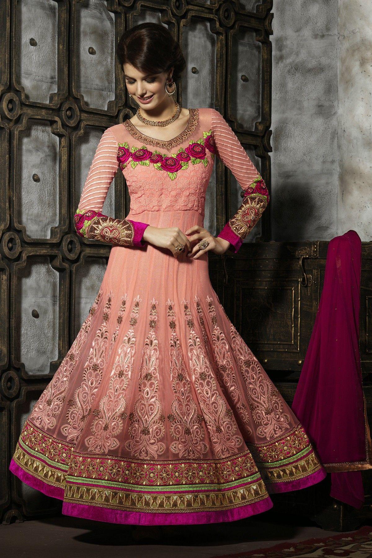 9c57d34fd8 A Set of Salawar Satin Georgette Inner Santoon With Georgette Bottom Event  Wear Suit
