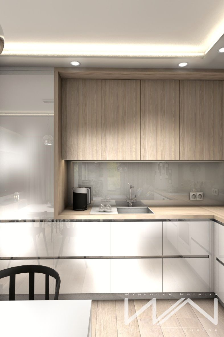 Project m apartment gdynia wiczlino part on behance kitchen