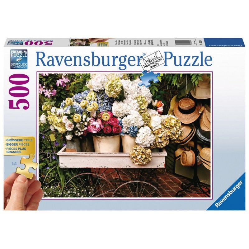 Ravensburger Blumen Und Hute Xmen Ch Gmbh Puzzles Ravensburger Puzzle Puzzle
