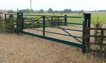 Farm Gates Entrance Driveways Ranch Style