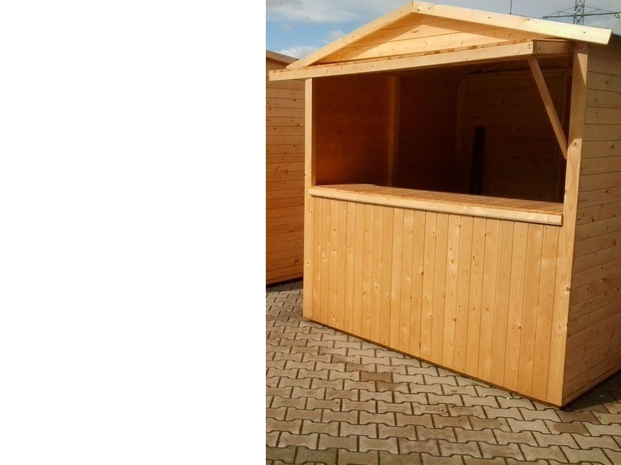 Weihnachtsmarkt Gartenhaus 2x2 Verkaufstand Verkaufshaus Marktstand
