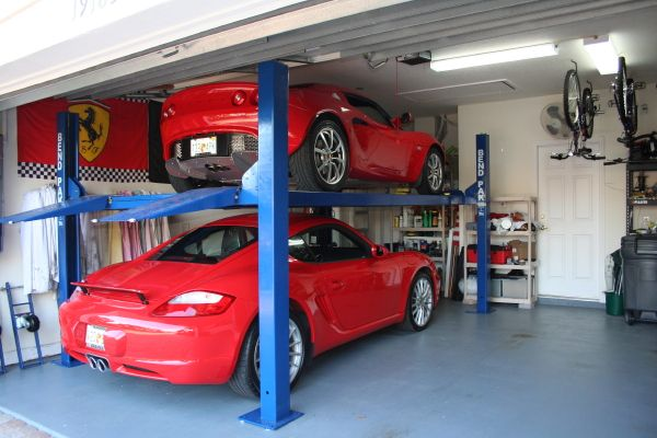 Lift In A Normal Garage