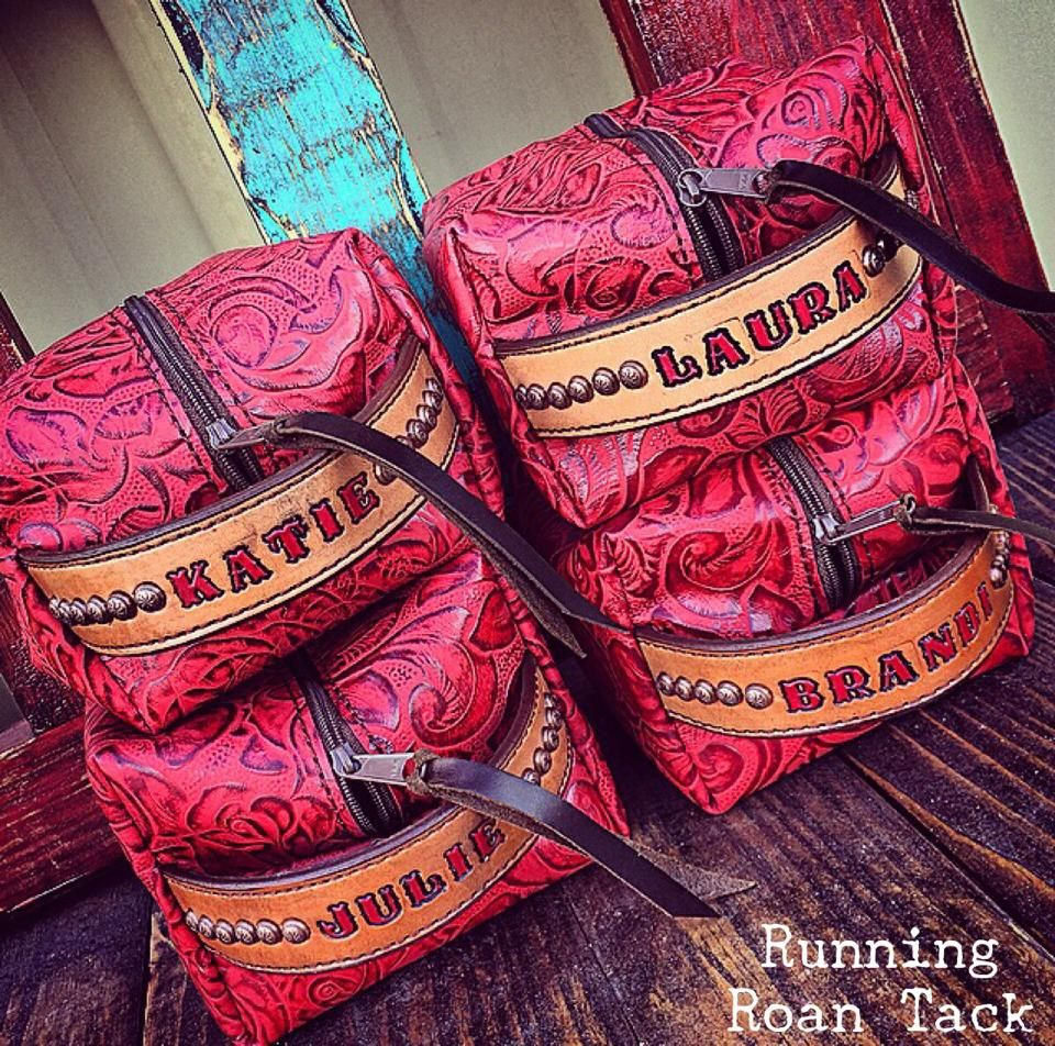 Bridesmaid Gifts Customized Trophy Bags By Running Roan Tack Add Name Award Info