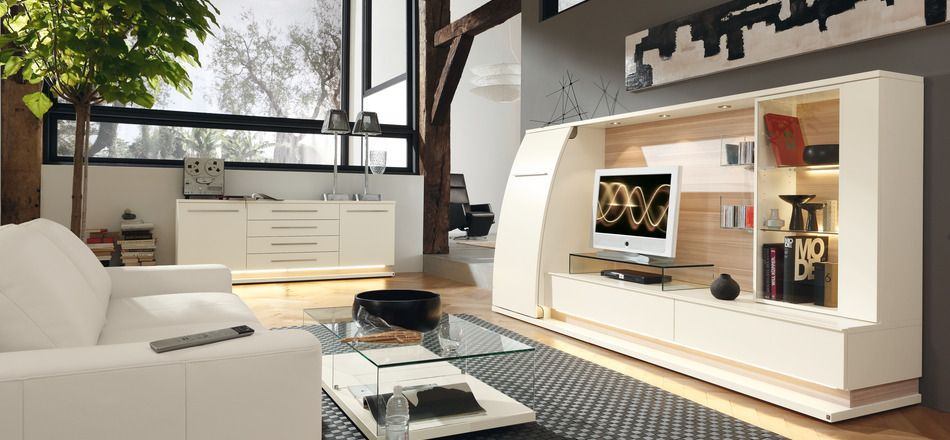 Interior:Open Space Living Area Contemporary Interior Design Concept ...