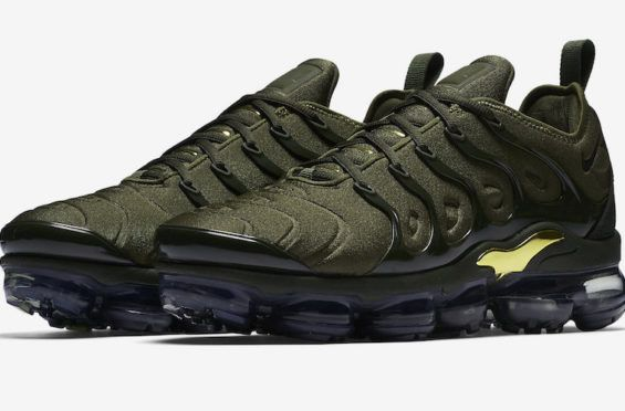 wholesale dealer 08f14 28aa0 Nike Air VaporMax Plus Cargo Khaki Releasing Soon The new hybrid Nike Air VaporMax  Plus will