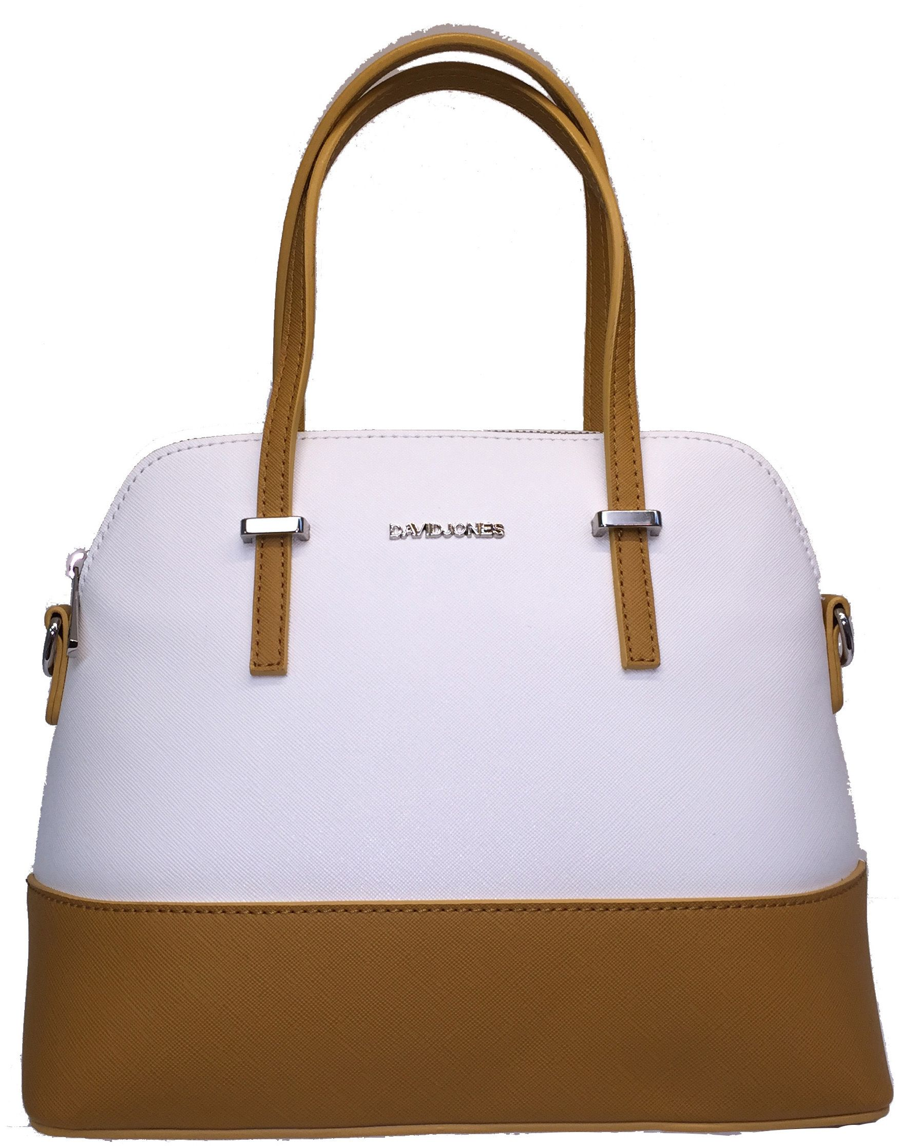 cfd32d858e7e David Jones Yellow & White Bag   .○•°○Dream bag○°•○.