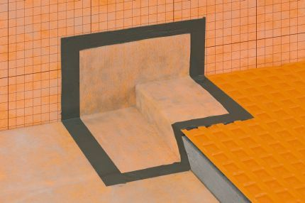 Schluter® KERDI KERS   Preformed, Waterproofing Corners For Barrier Free  Shower Applications