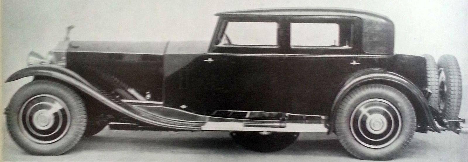 1930 Saloon by Kellner (chassis 41GX) for J. Rubin
