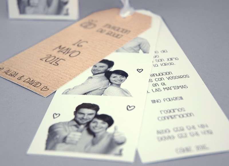 Invitaciones para boda civil fotos ideas invitaciones - Tarjetas de invitacion de boda originales ...