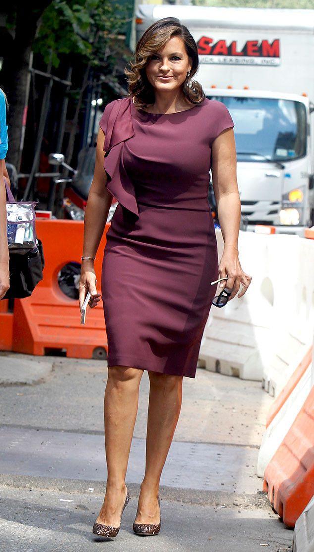 Mariska Hargitay Mariska Hargitay Corporate Dress Beautiful Outfits