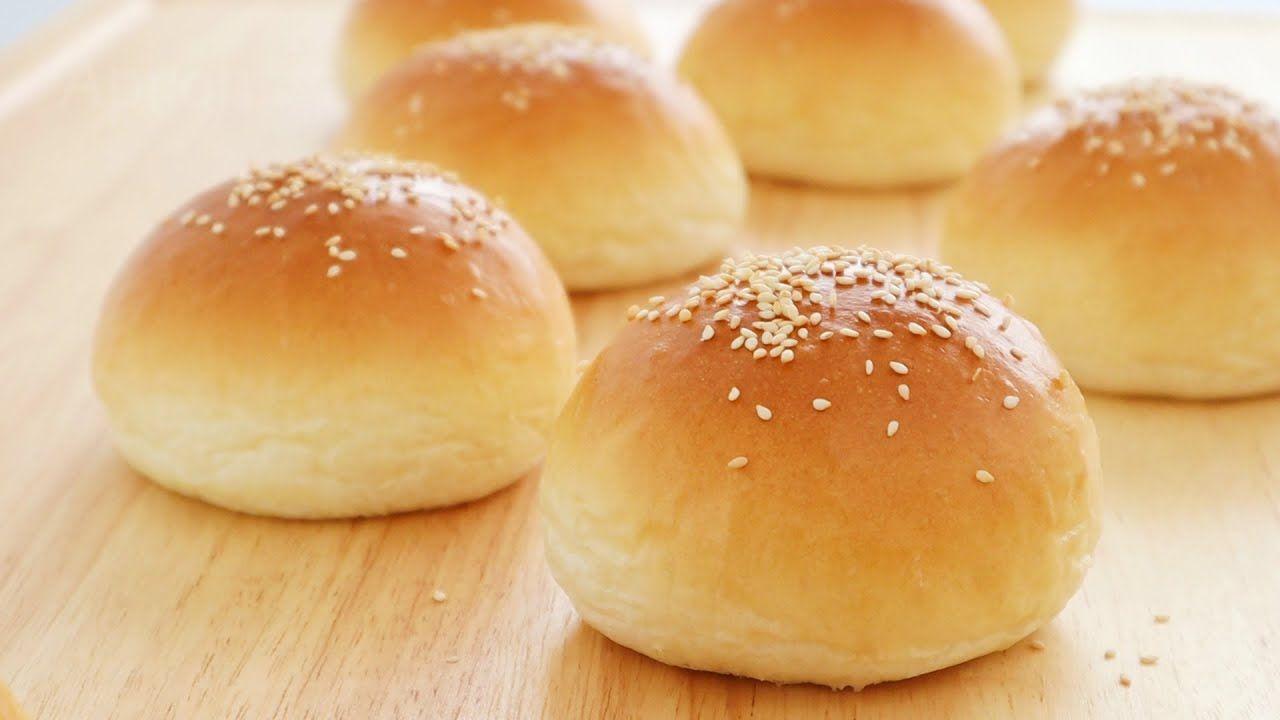 Булочки с начинкой из булочек с начинкой | Apron in 2020 | Burger buns,  Homemade brioche, Burger buns recipe