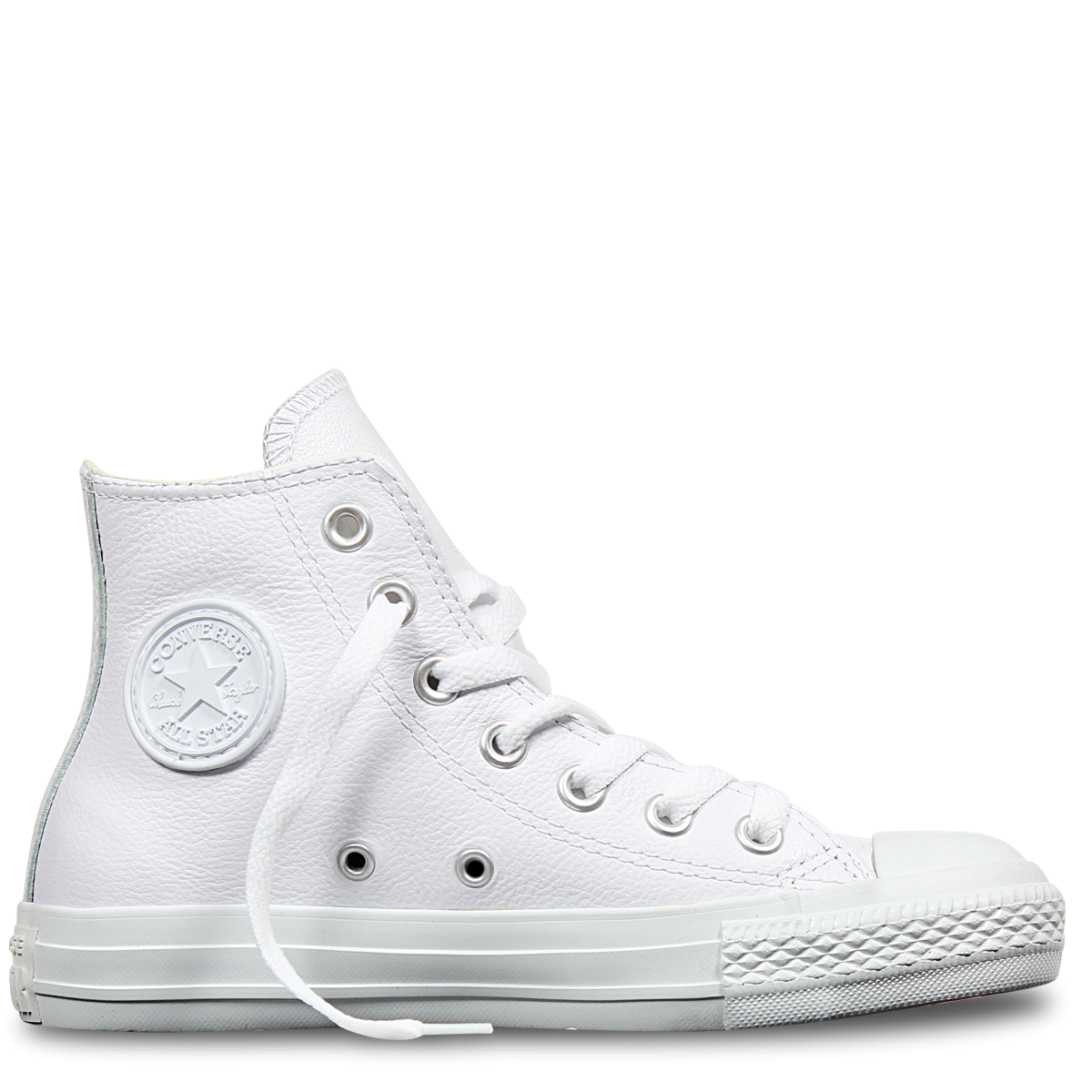 Chuck Taylor All Star Leather High Top White  fbc9c89c7577
