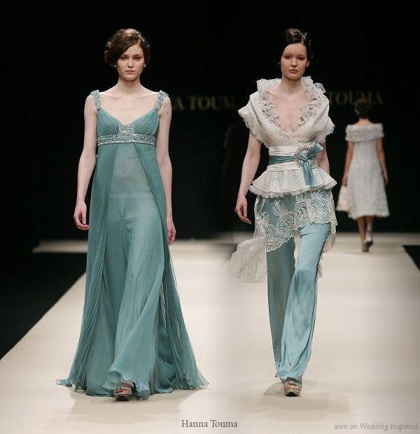 Hanna touma wedding dresses