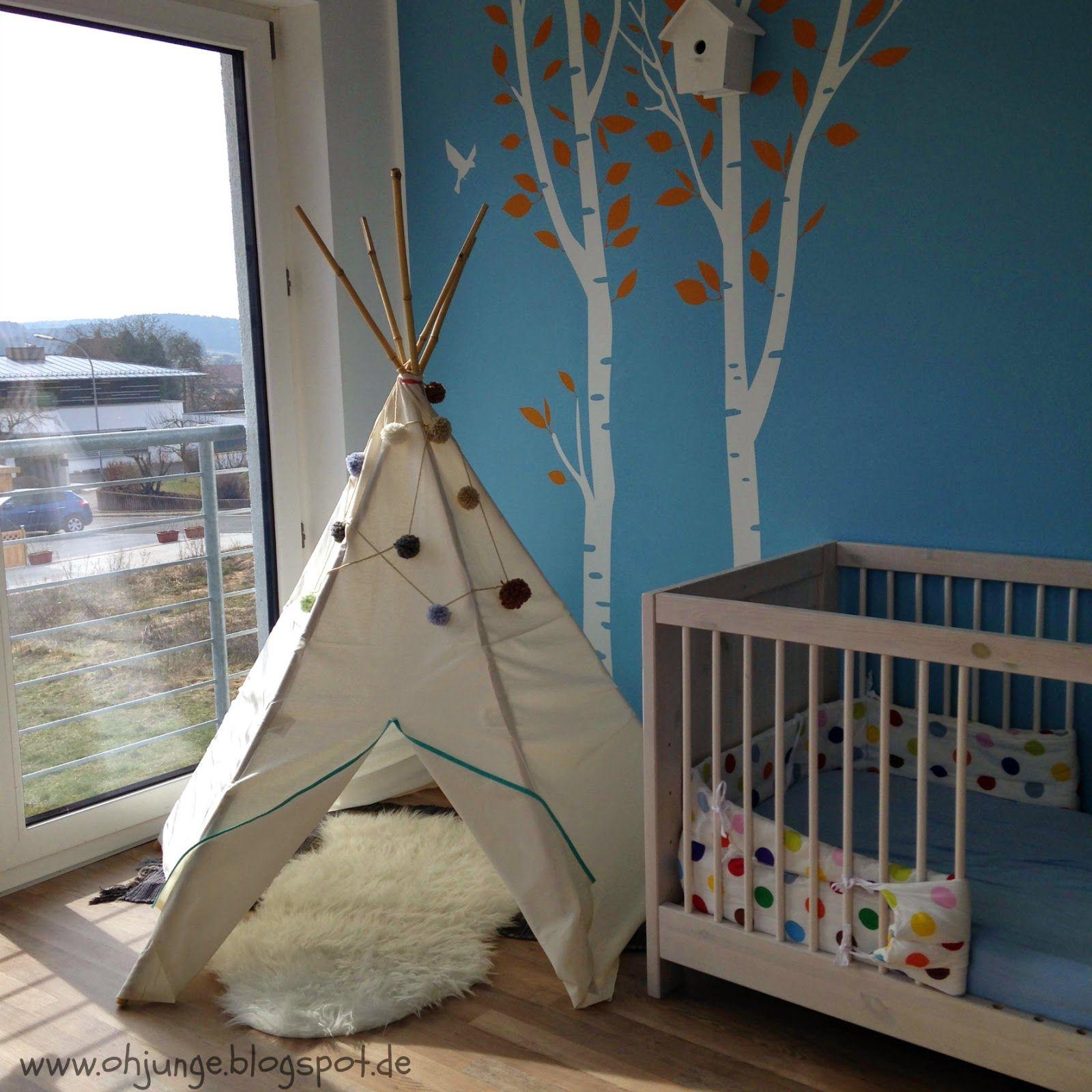 tipi (oh, junge!)   diy and crafts - Kinderzimmer Gestalten Wohnaccessoires Zara Home