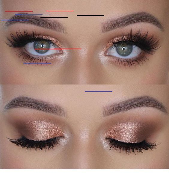 Photo of 41 top rose gold makeup ideas that look like a goddess rose gold eyes …