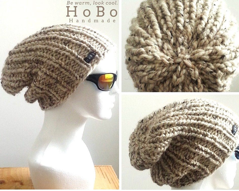 Handmade Chunky Wool Beanie