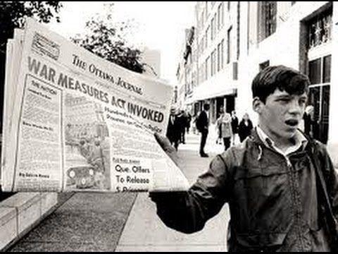 Flq October Crisis 1970 Canadian History Internment History