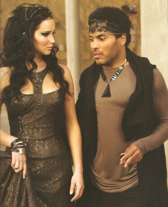 Katniss And Cinna Catching Fire Fashion Beauty In 2019