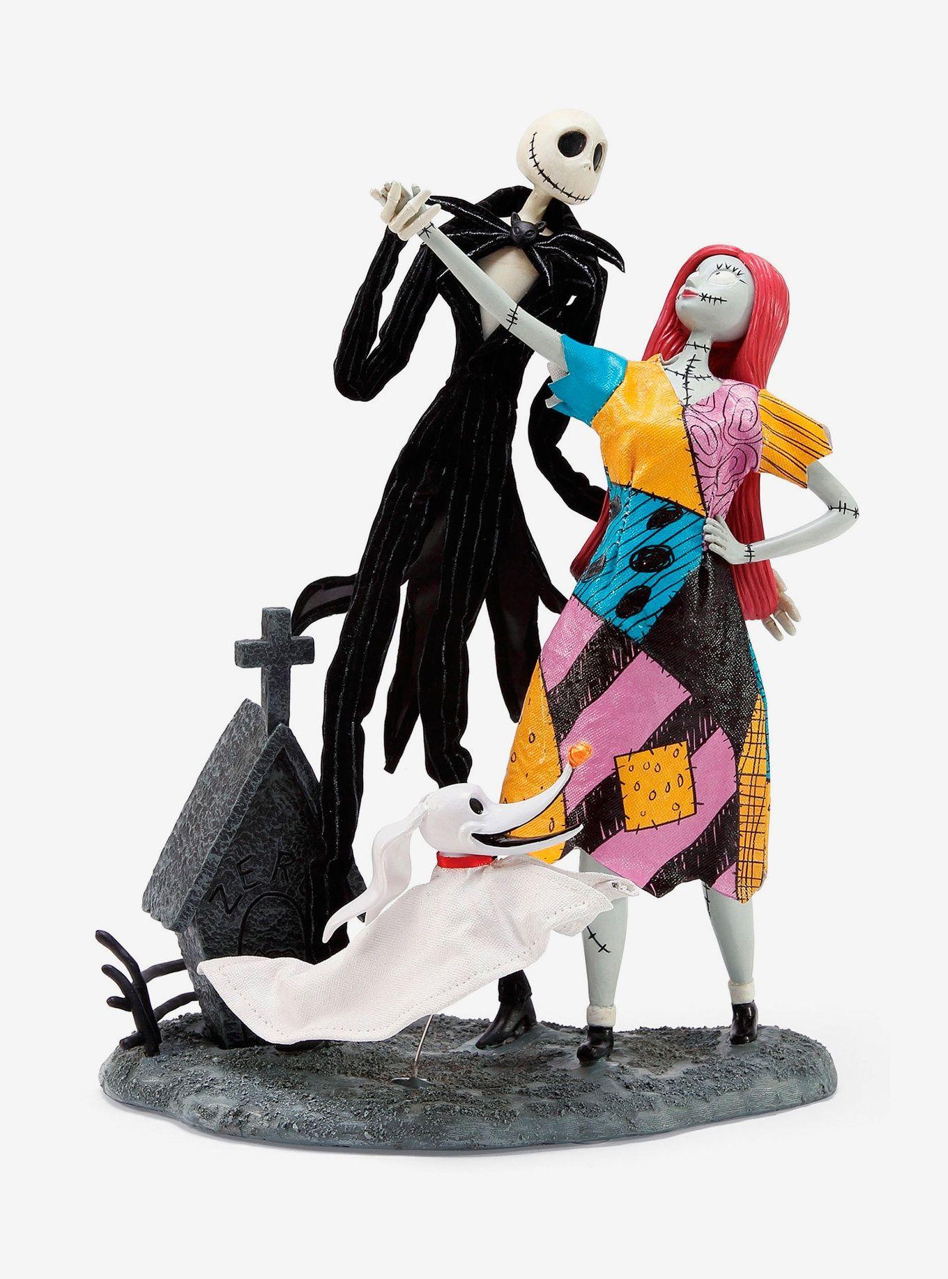 The Nightmare Before Christmas Jack Sally Amp Zero Figurine