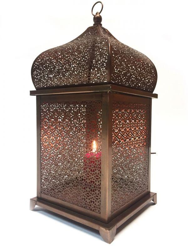 Orientalische Indische Orient Laterne Eisenlaterne Windlicht Laternen Aus  Indien In Möbel U0026 Wohnen, Dekoration, Kerzenständer U0026 Teelichthalter   EBay