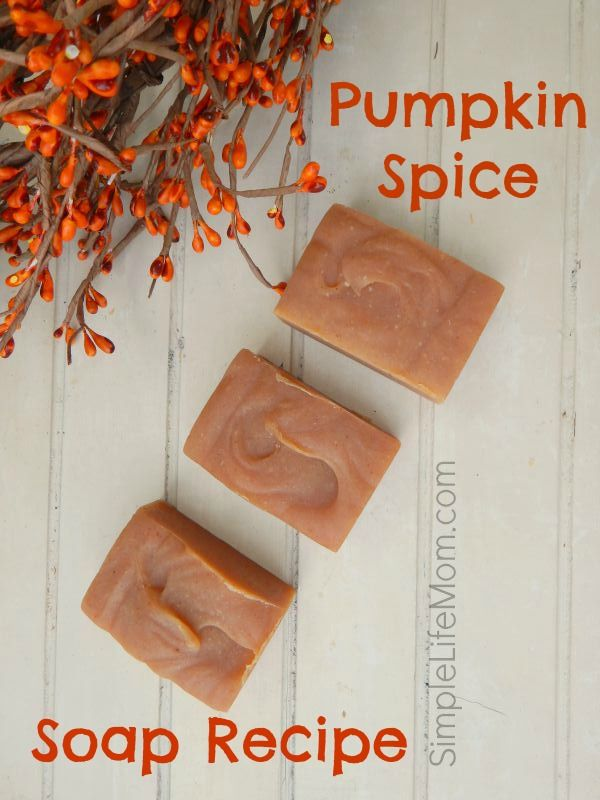 Best Pumpkin Soap! Pumpkin Spice Soap Recipe with pumpkin puree and essential oils with clear instructions and options. Great Thanksgiving or Holiday gift