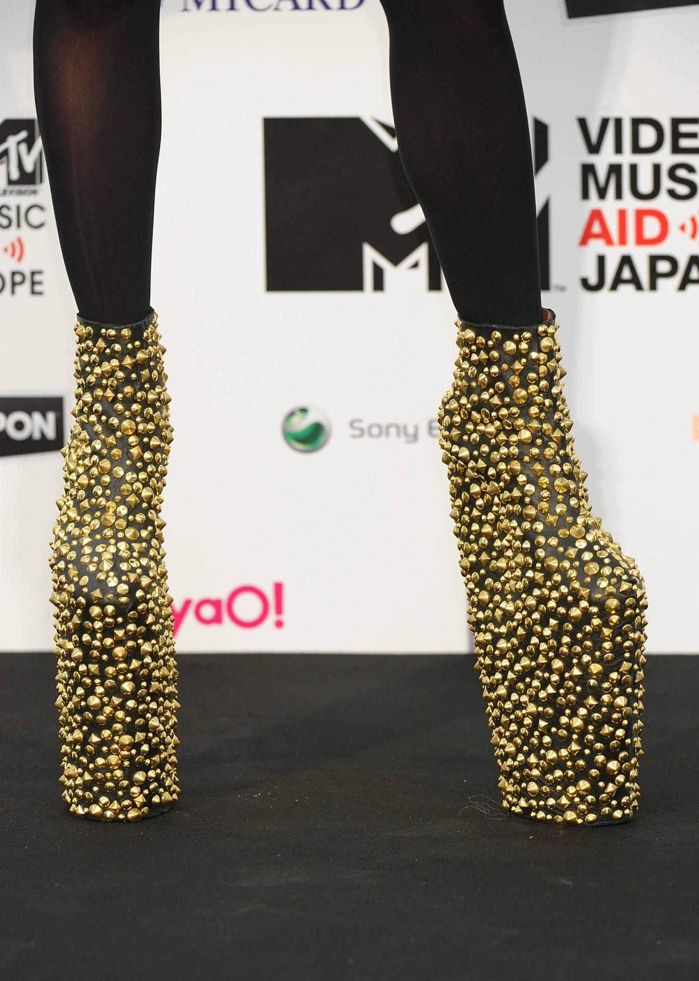 Lady Gaga left 'unable to walk' - could the shoes be the problem?