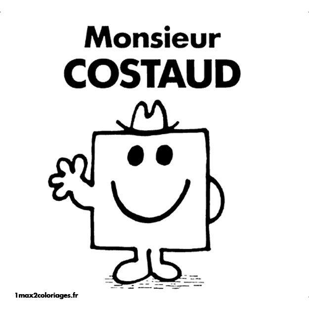 Dessin Monsieur Madame A Imprimer 25447 Monsieur Madame