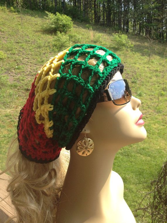 Rasta Dread Wrap, Headband, hair band, Dread Scarf, Head Scarf. Mens ...