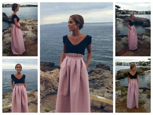 Wedding outfit by Lorena Look completo/Total look by Esther Garcia ...