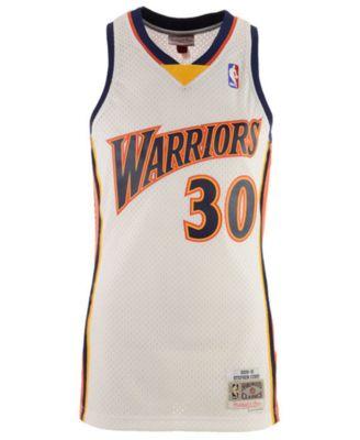 brand new 0de73 cbdf8 Mitchell & Ness Men's Stephen Curry Golden State Warriors ...