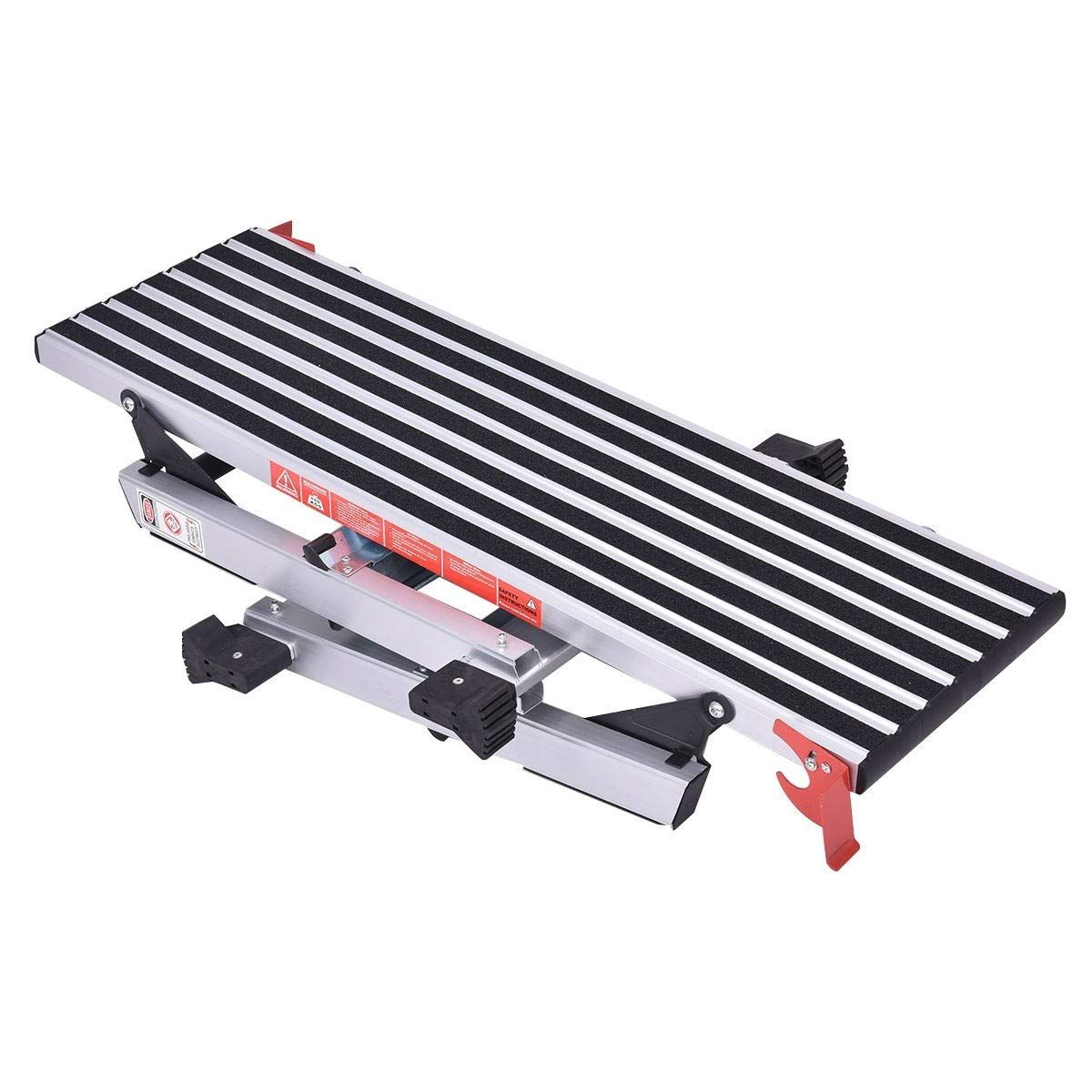 Mrt Supply 330 Lbs Aluminum Step Stool Nonslip Drywall Ladder With Ebook Continue To The Product At The Image Link This Is An Step Stool Ladder Aluminum