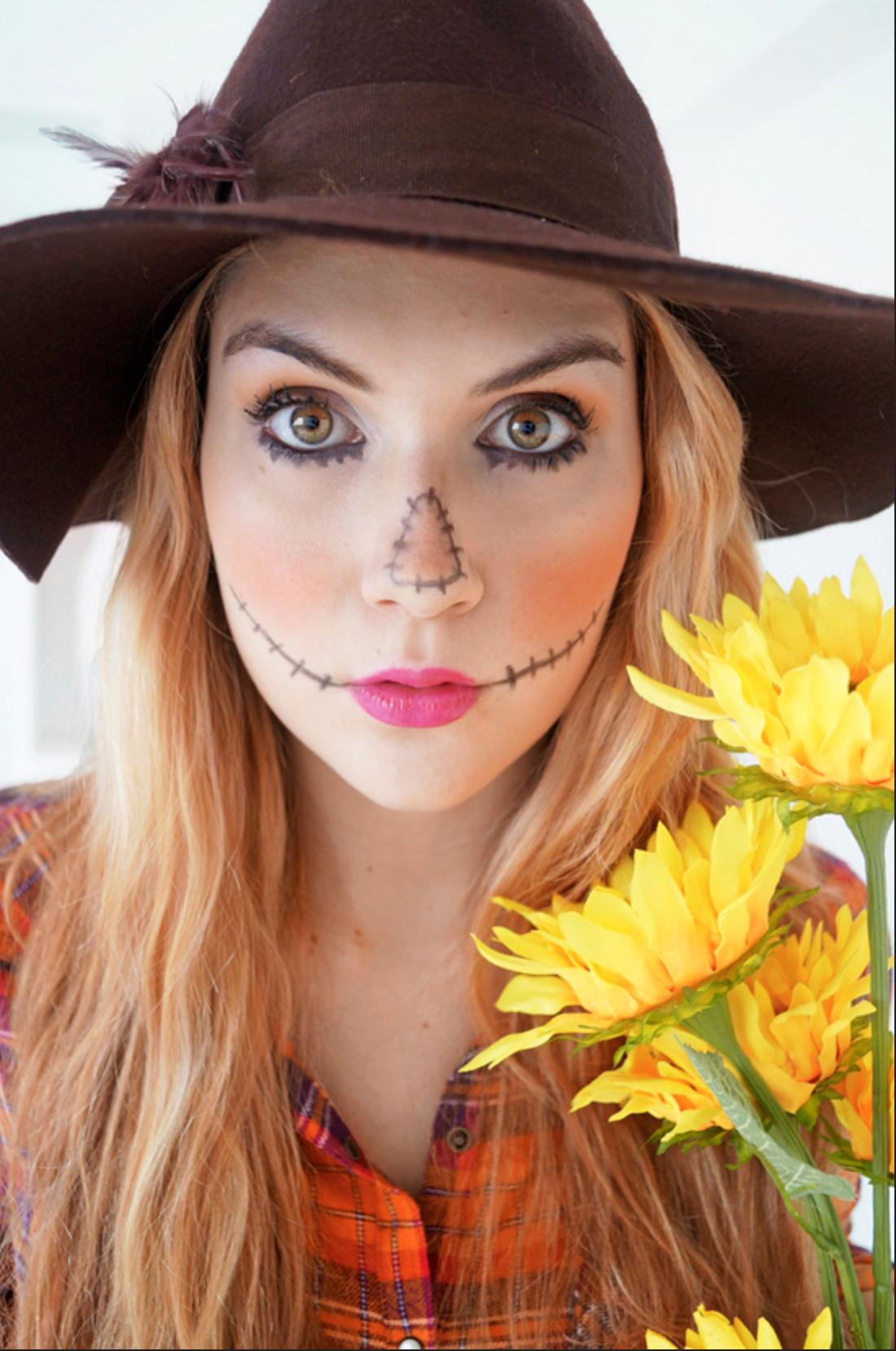 1001 + ideas de maquillaje para Halloween fácil y super