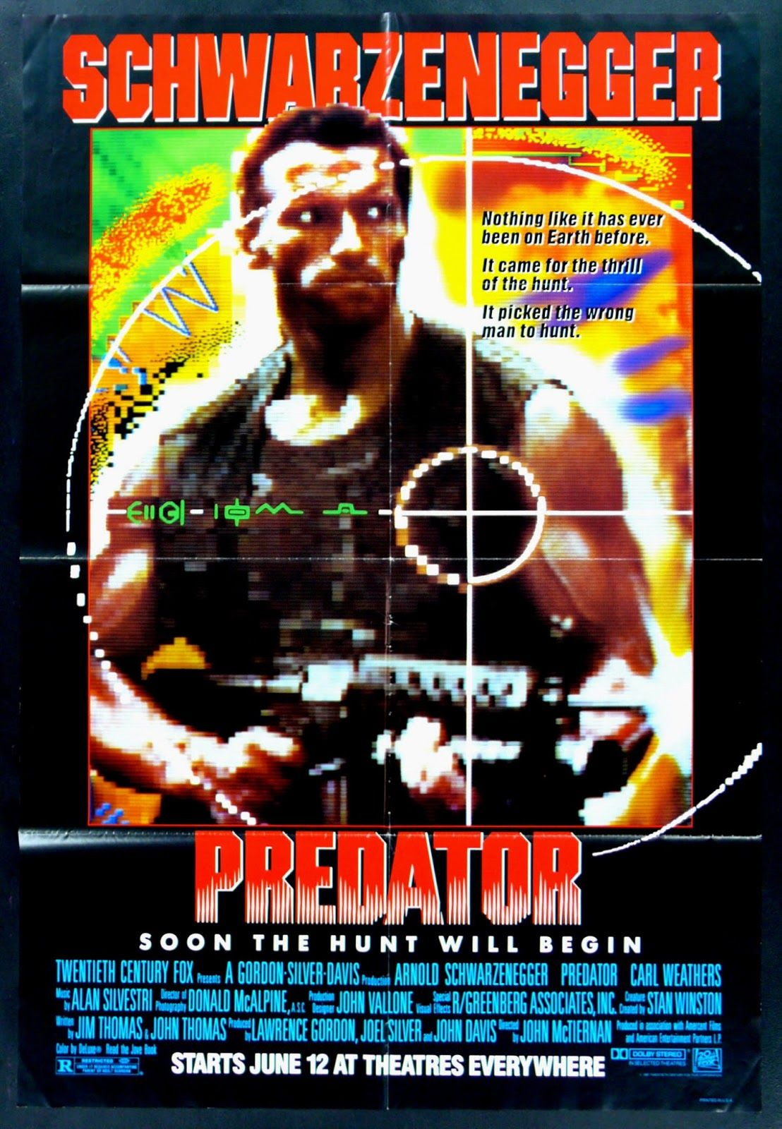 Hellinspace Predator (1987) Scifi Horror Movie