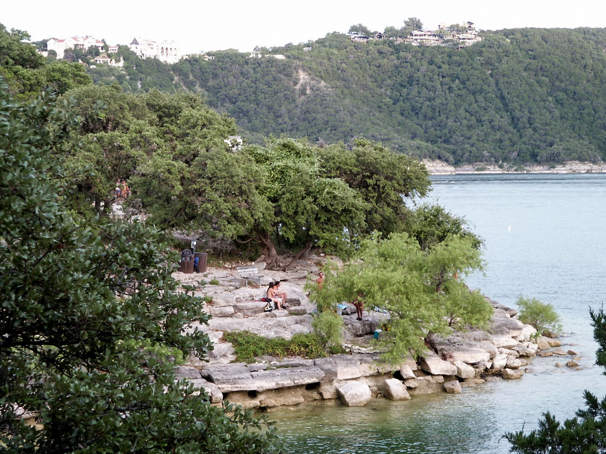 Hippie Hollow On Lake Travis, First And Only Nude Beach -9239