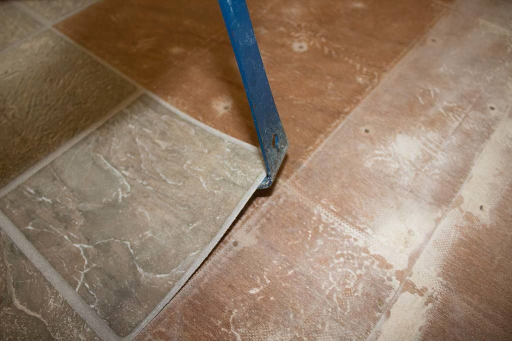 How to remove peel and stick floor tile flooring tile