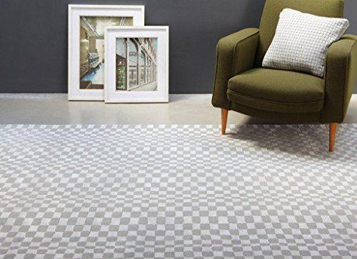 Teppich Wohnzimmer Carpet modernes Design OSKA NETZ GEOMETRIE RUG 50 - Teppich Wohnzimmer Braun