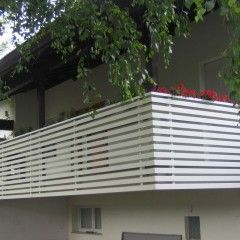 poggioli e balconi in alluminio z style parapetti