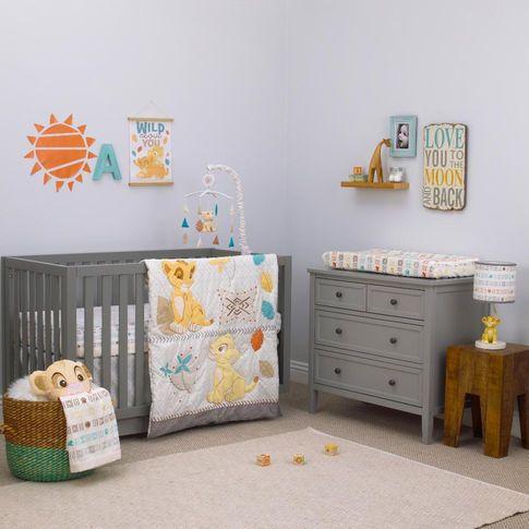 The Lion King Circle Of Life 3 Piece Crib Bedding Set