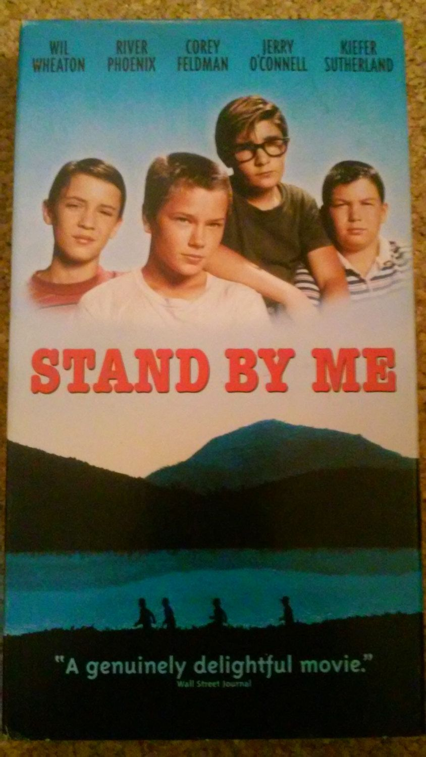 Stand By Me On Vhs Tape In 2020 Good Movies Streaming Movies I Movie