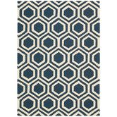 Found it at Wayfair.co.uk - Linear Hand-Woven Blue Area Rug