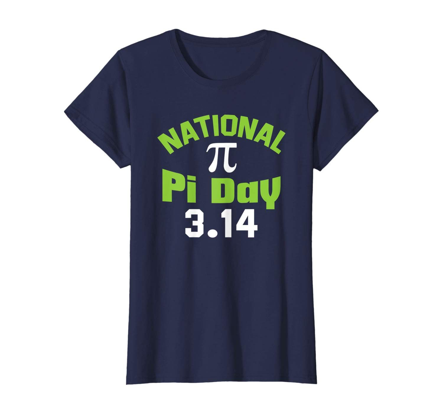 National Pi Day T Shirt March 14 3 14 Math Number In